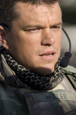 film Green Zone 2010 - Matt Damon w filmie Paula Greengrassa