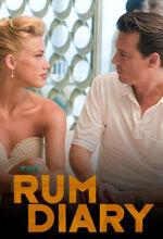 Dziennik zakrapiany rumem The Rum Diary Johnny Depp film 2011