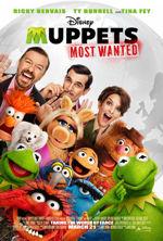 film dla dzieci Muppets Most Wanted 2014