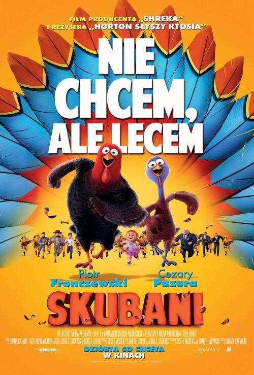 Film animowany dla dzieci Skubani (2014) dubbing PL