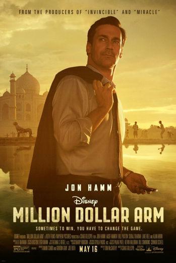 Komedia sportowa Ramię za milion dolarów(2014) Million Dollar Arm