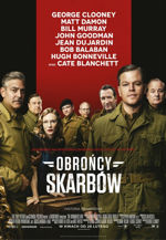 film wojenny 2014 Obrońcy skarbów  The Monuments Men
