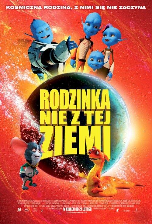Film animowany dla dzieci Rodzinka nie z tej ziemi - dubbing PL (2014)