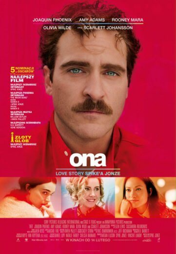 film Ona - Her (2014) Joaquin Phoenix, Amy Adams
