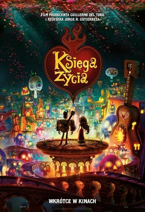 Film dla dzieci Księga życia - dubbing PL (2014)