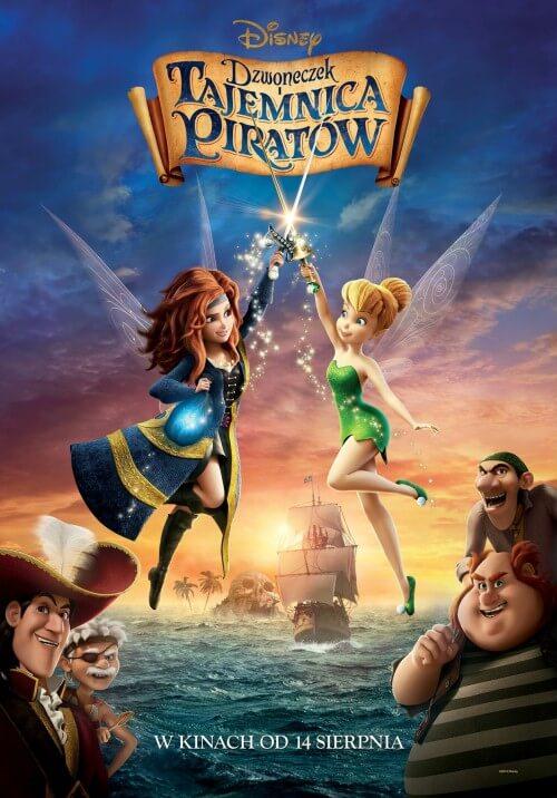 Film dla dzieci Dzwoneczek i tajemnica piratów - dubbing PL (2014)