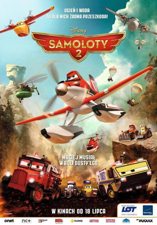 Film dla dzieci Samoloty 2 dubbing PL (2014)