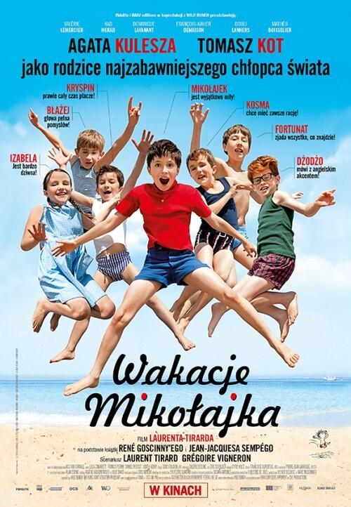Film dla dzieci Wakacje Mikołajka dubbing PL (2014)
