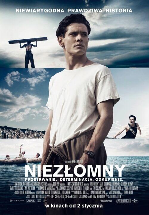 Film wojenny Niezłomny  Unbroken (2014) Louis Zamperini