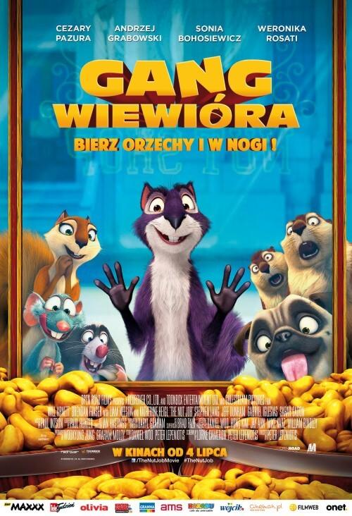 film dla dzieci Gang Wiewióra - dubbing PL (2014)