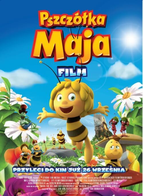 Film dla dzieci Pszczółka Maja dubbing PL (2014)