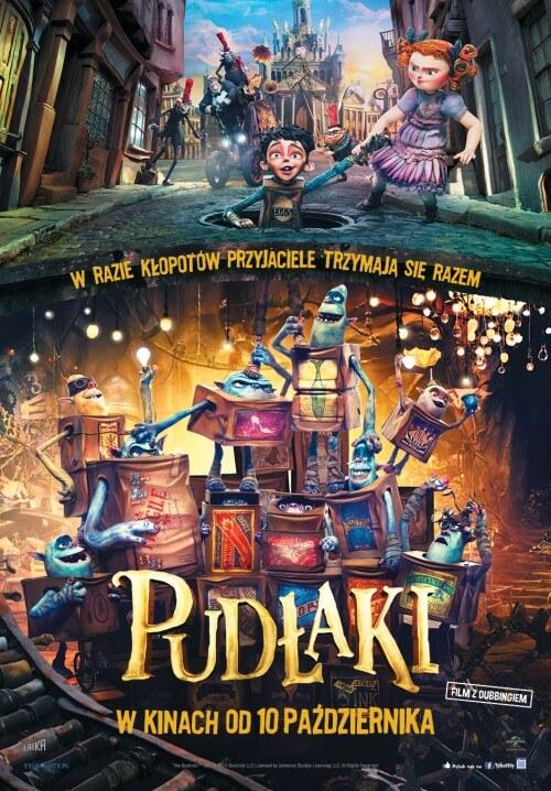 Film dla dzieci Pudłaki dubbing PL (2014)