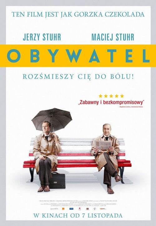 Polska komedia Obywatel (2014) Jerzy Stuhr