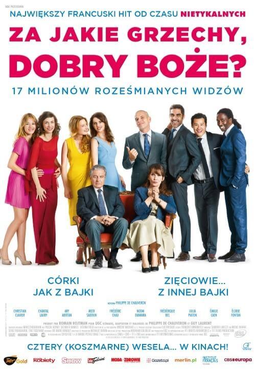 Komedia francuska Za jakie grzechy, dobry Boże (2014)