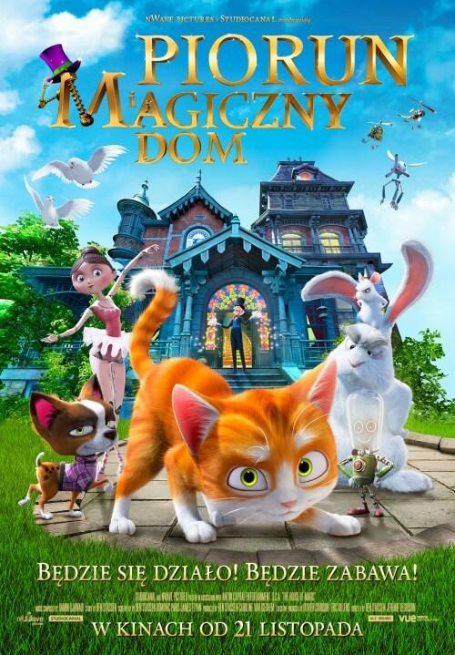 Film dla dzieci Piorun i magiczny dom 3D (2014)