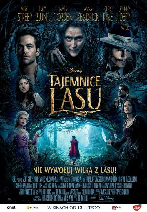 Film dla dzieci Tajemnice lasu  Into the Woods (2014)