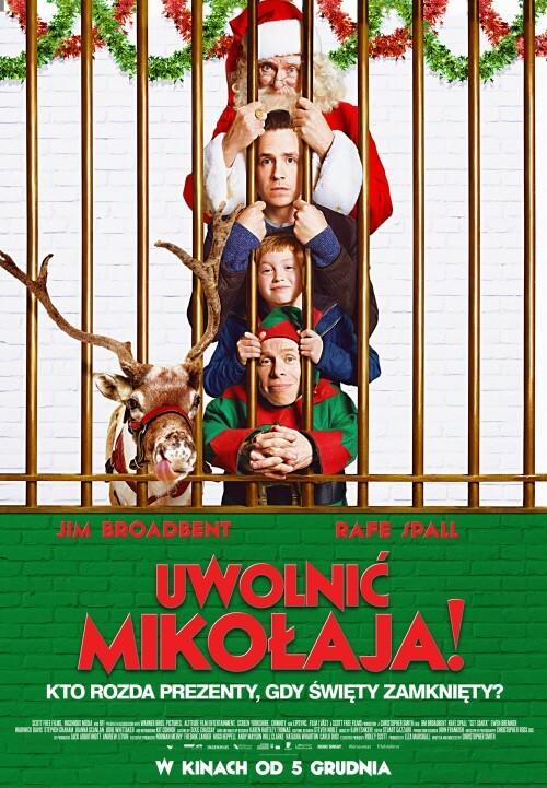 Film familijny Uwolnić Mikołaja! (2014) Dubbing PL