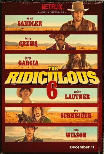 Komedia akcji The Ridiculous 6 (2015) Adam Sandler