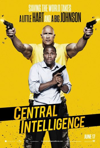 Komedia akcji Central Intelligence (2016) Dwayne Johnson