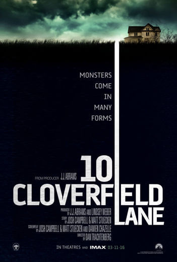 Film 10 Cloverfield Lane 2016