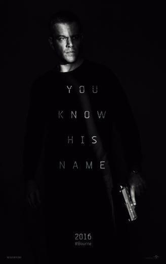 Film akcji Jason Bourne (2016)  Matt Damon