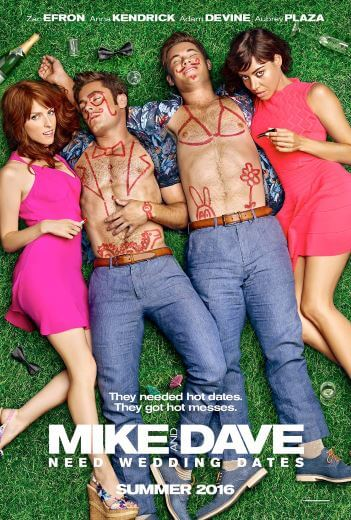 Komedia Mike and Dave Need Wedding Dates (2016)