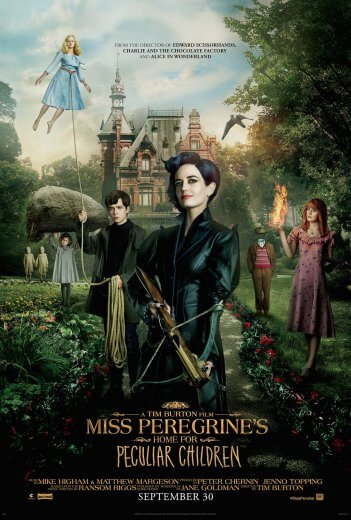 Film Osobliwy dom Pani Peregrine (2016) Eva Green