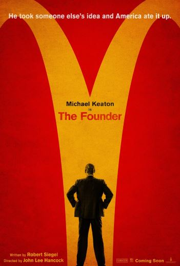 Film McImperium McDonald's Film biograficzny The Founder 2017