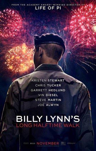 Film wojenny Billy Lynn's Long Halftime Walk (2016)