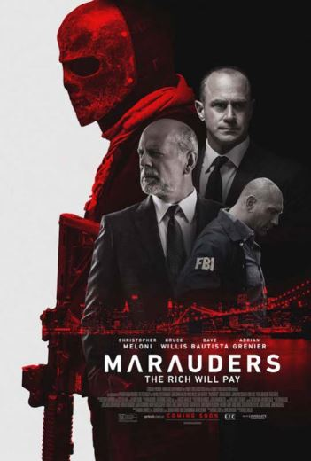"""Film akcji """"Marauders"""" (2016)  Bruce Willis"""