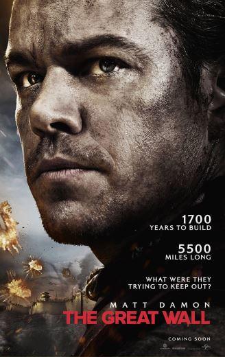 Film Wileki Mur Great Wall 2017 Matt Damon