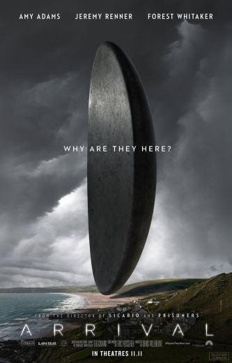 Film sci-fi Nowy początek Arrival 2016