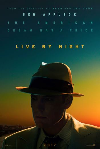 Film kryminalny Nocne życie Live by Night 2017 Ben Affleck