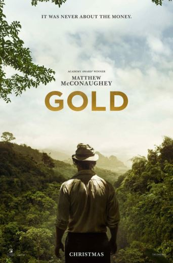 Film przygodowy Gold 2016 Matthew McConaughey