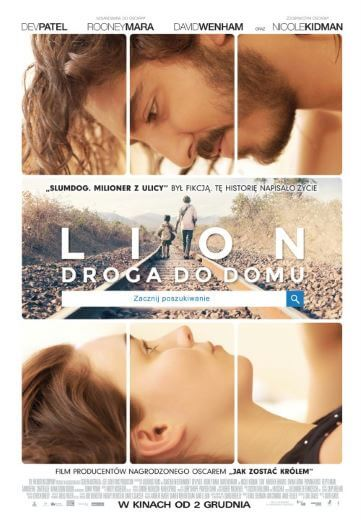 Film Lion. Droga do domu 2016