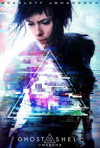 Film akcji Ghost in the Shell 2017 Scarlett Johansson