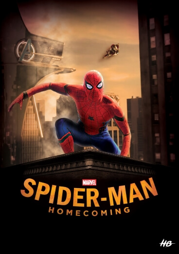 Film akcji Spider-Man Homecoming Marvel 2017