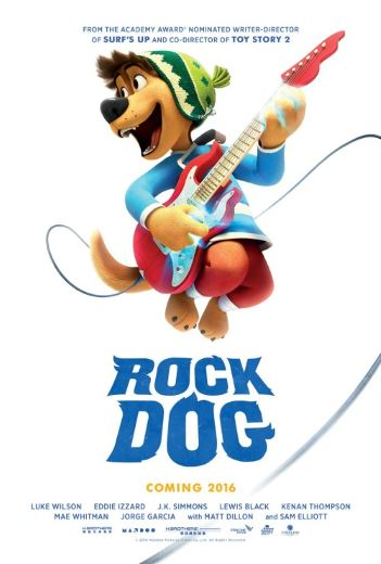 Przygodowa bajka dla dzieci Rock Dog. Pies ma głos! (2017)