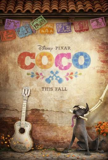 Bajka dla dzieci Coco 2017 Disney