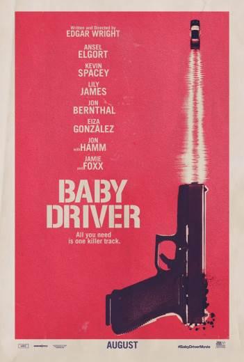 Komedia akcji Baby Driver 2017
