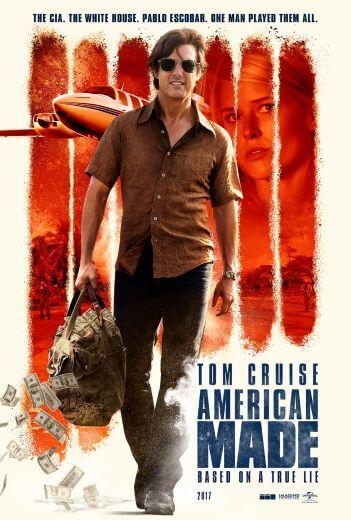 Film akcji Barry Seal: Król przemytu American Made 2017 Tom Cruise