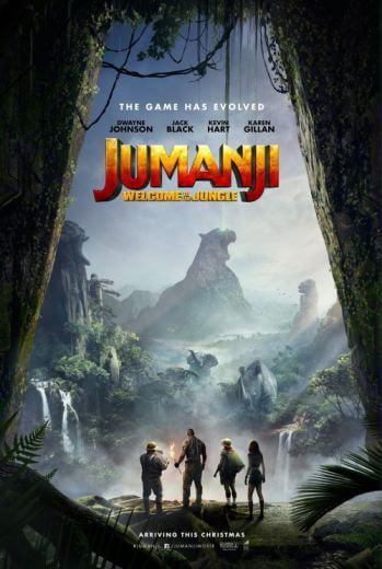 Film przygodowy Jumanji Przygoda w dżungli 2017