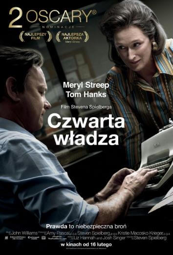 Film Czwarta władza The Post 2018