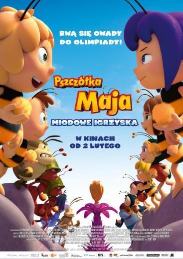 Bajka dla dzieci Pszczółka Maja Miodowe igrzyska 2018
