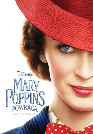 Film familijny Mary Poppins powraca 2018