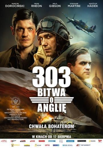 Polski film wojenny 303. BITWA O ANGLIĘ 2018