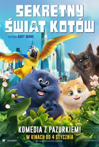Bajka animowana dla dzieci Sekretny świat kotów 2019
