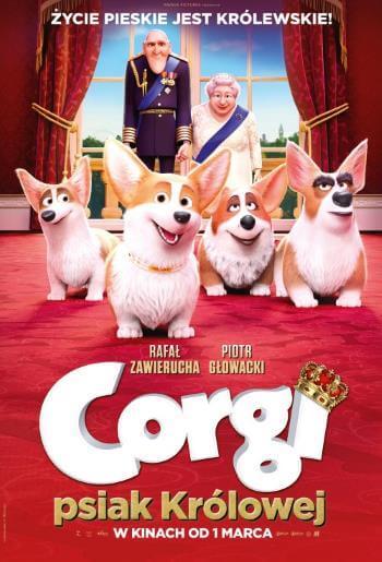 Bajka dla dzieci Corgi, psiak Królowej 2019