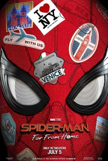 Film akcji Spider-Man Daleko od domu 2019