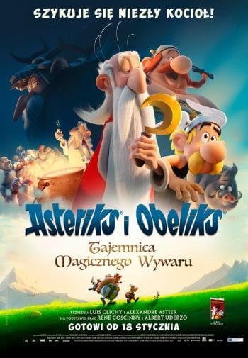 Film dla dzieci Asteriks i Obeliks. Tajemnica magicznego wywaru 2019
